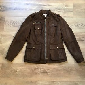 Kenneth Cole | brown utility jacket size small